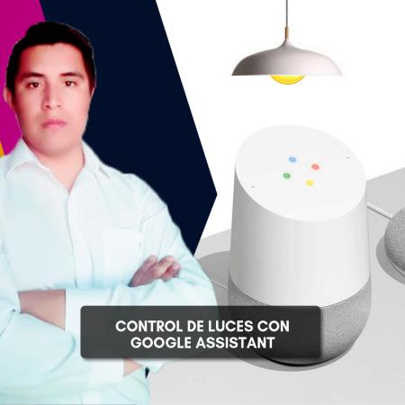 Control de Luces con Google Assistant