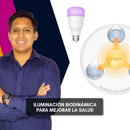 Iluminación Biodinámica para Mejorar la Salud