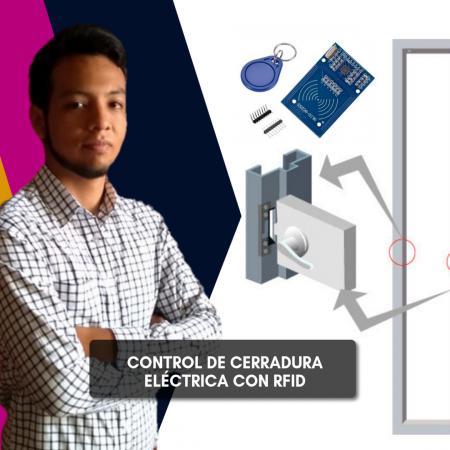 Control de Cerradura Eléctrica con RFID