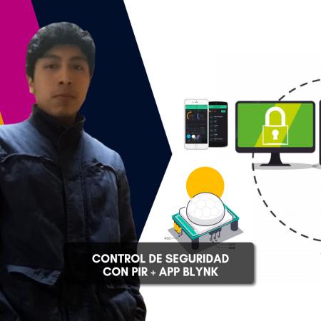 Control de Seguridad con Sensor PIR