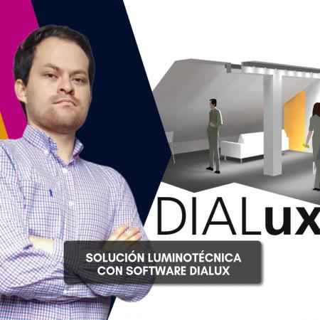 Solución Luminotécnica en Software Dialux