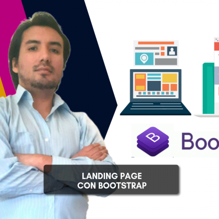 Landing Page con Bootstrap 4