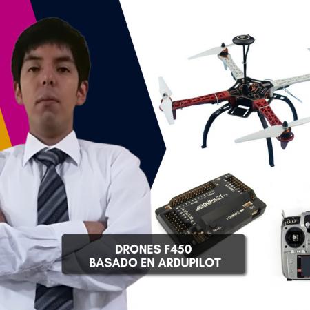 Drones F450 basado en Ardupilot