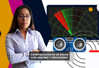 Construcción de un radar con arduino y processing