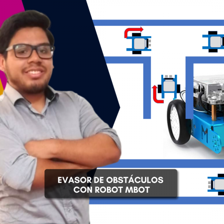 Evasor de obstaculos con robot mBot
