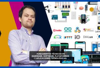 Conferencia: Fundamentos técnicos en Hardware, software, plataformas y aplicaciones tecnológicas.