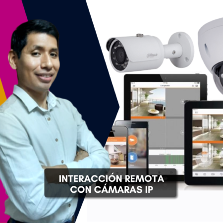 Interacción remota con cámaras IP