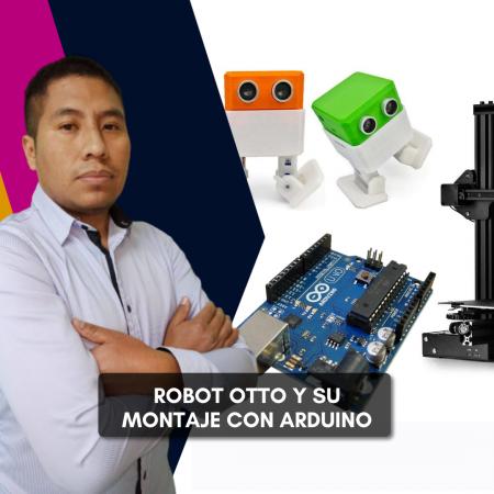 Montaje del robot Otto con Arduino
