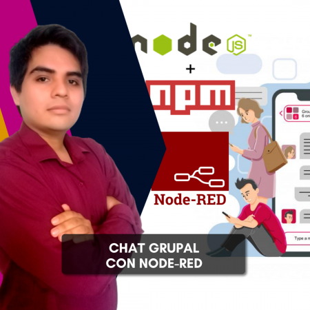 Chat grupal con Node-RED