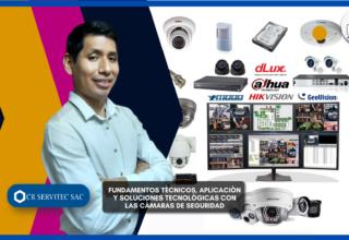 Conferencia: Fundamentos técnicos, aplicación y soluciones tecnológicas con las cámaras de seguridad