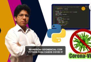 Regresión Exponencial con Python para casos de Covid-19