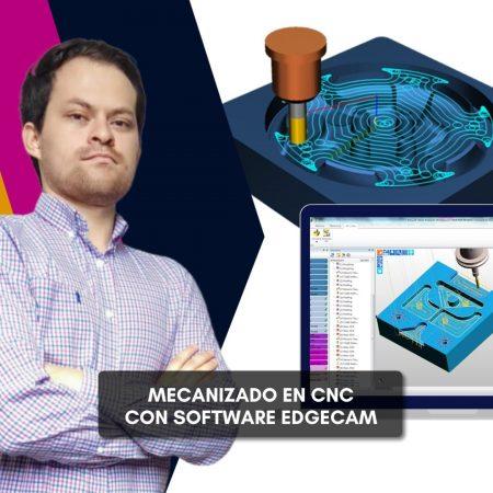 Mecanizado en CNC con software EdgeCAM