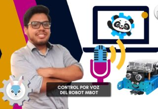 Control por voz de robot mBot
