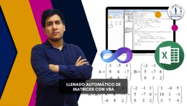 Llenado automático de Matrices con VBA