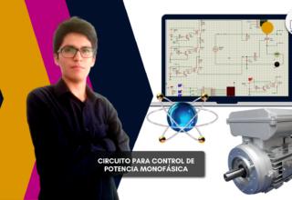 Diseño de circuito para Control de Electrónica de Potencia Monofásica