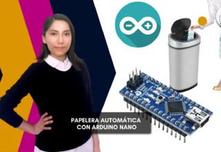 Papelera con apertura automática utilizando Arduino nano